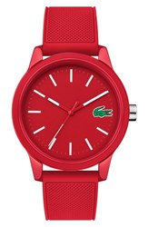 Lacoste 12.12 Rubber Strap Watch 42Mm