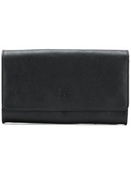 Il Bisonte Flap Wallet Black