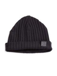 Y 3 Cuffed Knit Beanie Black