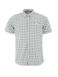 Garcia Gingham Cotton Shirt Blue