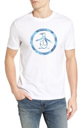 Original Penguin Men's Palm Tree Circle Graphic T Shirt