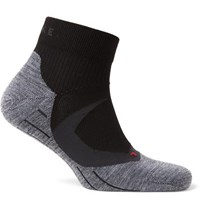 Falke Ergonomic Sport System Ru4 Cool Stretch Knit Socks Black