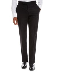 Tom Ford O'connor Flannel Dress Trousers Black