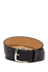 Cole Haan Buff Harness Leather Belt Black