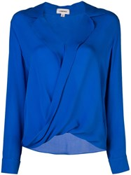 L'agence Loose Fit Blouse Blue