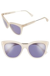 Derek Lam Women's 'Lenox' 53Mm Cat Eye Sunglasses