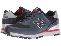 New Balance Golf Nbg518 Navy Red Men's Shoes Multi