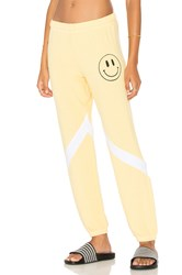 Lauren Moshi Caden Sweatpant Yellow