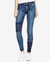 Guess Mid Rise Jeggings Wave Blue Medium