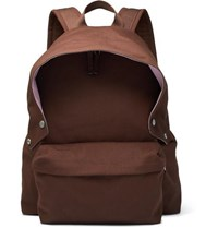Raf Simons Eastpak Padded Pak'r Canvas Backpack Brown