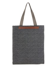 Mismo M S Flair Tweed And Leather Tote