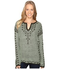 Royal Robbins Autumn Pine Pullover Agave Women's Long Sleeve Pullover Green