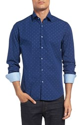 Stone Rose Men's 'Anchor Fil Coupe' Print Sport Shirt