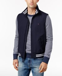 Tommy Hilfiger Men's Big And Tall Regatta Vest Midnight
