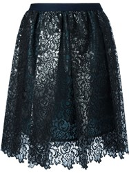 Kolor Lace Skirt Black
