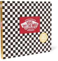 Abrams Vans Off The Wall 50Th Anniversary Edition Hardcover Book Black