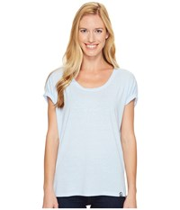 The North Face Ez Dolman Top Chambray Blue Melange Women's Clothing
