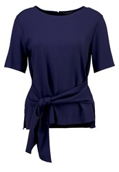 Club Monaco Telaim Blouse Lapis Blue