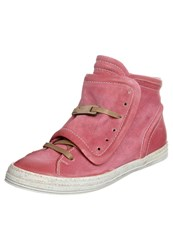A.S.98 Atena Hightop Trainers Red