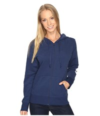 Life Is Good Go To Zip Hoodie Darkest Blue Women's Sweatshirt