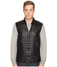 Duvetica Cario Quilted Down Vest All Black