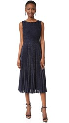 Zac Posen Ally Dress Navy