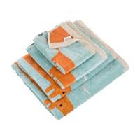 Scion Mr Fox Towel Aqua Bath Sheet