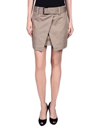 Barbara Bui Mini Skirts Khaki