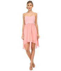 Alejandra Sky Emmie Strapless Sparkle Dress Pink Women's Dress