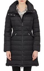Moncler Women's Down Quilted Flammette Coat Colorless