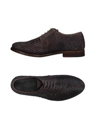 Catarina Martins Lace Up Shoes Steel Grey