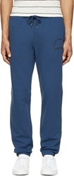 Marc By Marc Jacobs Blue Logo Lounge Pants