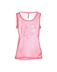 Amy Gee Topwear Vests Women Fuchsia