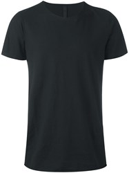 Poeme Bohemien Round Neck T Shirt Black
