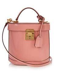 Mark Cross Benchley Leather Shoulder Bag Light Pink