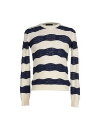 Gold Case By Rocco Fraioli Knitwear Jumpers Men Ivory