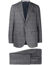 Etro Checked Two Piece Suit 60