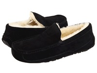 Ugg Ascot Black Suede Men's Slippers