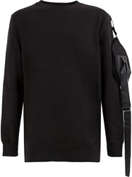 Matthew Miller Utility Pocket Sweatshirt Black