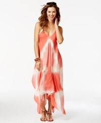 Raviya Tie Dye Handkerchief Maxi Dress Cover Up Women's Swimsuit