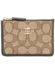 Coach Accordion Wallet Nude Neutrals