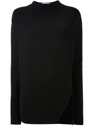 Thomas Tait Ribbed Side Slit Top