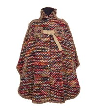 See By Chloe Boho Cape Coat Female Multi
