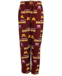 Concepts Sport Minnesota Golden Gophers Sweep Sleep Pants Maroon Gold