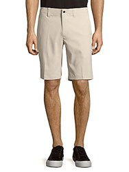 Callaway Solid Four Pocket Shorts Silver Lining