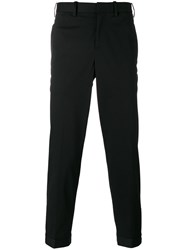 Neil Barrett Tailored Tapered Trousers Black