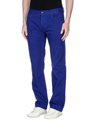 Hugo Denim Denim Trousers Men Bright Blue