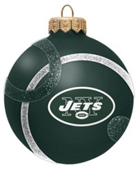Memory Company New York Jets Traditional Ball Circle Pattern Ornament