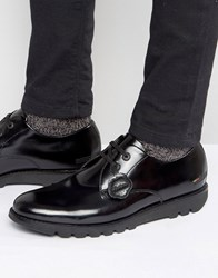 Kickers Kymbo Leather Derby Shoes Black