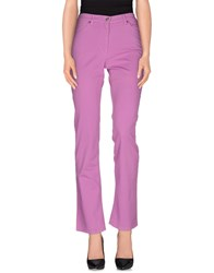 Henry Cotton's Trousers Casual Trousers Women Light Purple